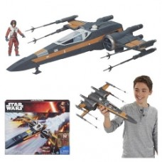 Star Wars Episode VII - The Force Awakens Class III Deluxe Resistance X-Wing Fighter Vehicle