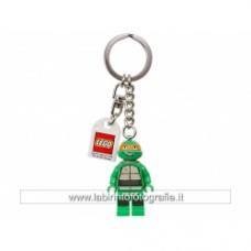 LEGO Teenage Mutant Ninja Turtles Michelangelo Key Chain