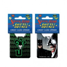 Batman Joker Comic Credit Card Bottle Opener