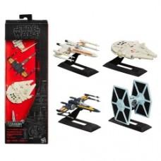 Star Wars The Force Awakens The Black Series Titanium Series Die-Cast Metal Vehicles Gift Set