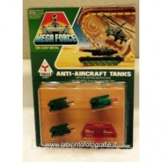 Mega Force Anti-aircraft tanks Kenner