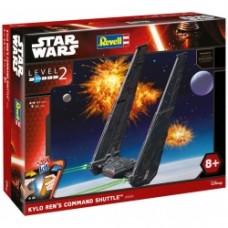 REVELL Level 2 Revell Kylo Ren's Command Shuttle Snap Kit