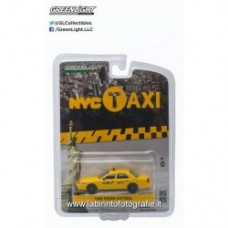 2011 Ford Crown Victoria New York Taxi, yellow