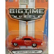 JADA BIGTIME MUSCLE 1967 Chevy Nova SS Red