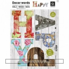 Decor Words - Happy