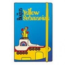 beatles yellow submarine blu notes con elastico