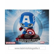 Avengers Age of Ultron Bobble Head Captain America Dragon Models