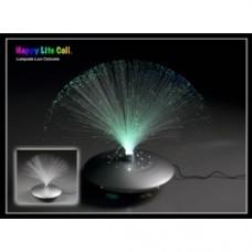 lampada microfibre colorata