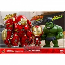 Avengers Age of Ultron Cosbaby Hot Toys Tri-pack