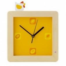 orologio da muro gallina