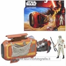 Star Wars The Force Awakens Deluxe Class I Vehicle Rey's Speeder