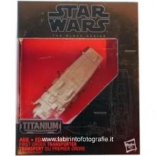 Star Wars: The Force Awakens Black Series Titanium Firsrt Order Transporter