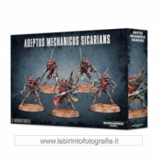 Warhammer 40.000 Adeptus Mechanicus Sicarian