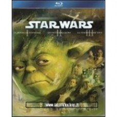 Star Wars Prequel Trilogy Episodi I - II - III (Cofanetto 3 blu-ray)
