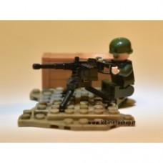 Americani Fanteria Verde scuro mitragliatrice pesante - ww2