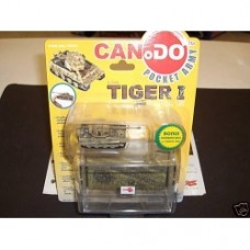 CAN DO POCKET ARMY 1/144 TIGER I SD.KFZ.181 BROWN VER.