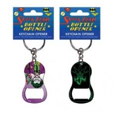 Batman Joker Jester Key Chain Bottle Opener