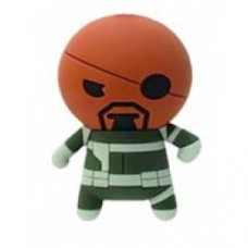 Marvel 3D Figural Keychain Series 1 Nick Fury