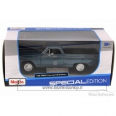 Maisto 1965 Chevrolet El Camino Hard Top Blue