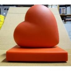 Fermalibri cuore rosso
