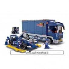 Sluban F1 Truck M38-B0357