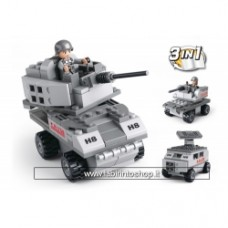 Army - Sluban Armored Vehicle 3-in-1 M38-B0537B