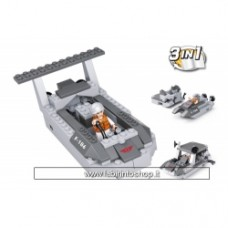 Army - Sluban Landing Craft 3-in-1 M38-B0537D