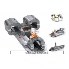 Army - Sluban Jet Boat 3-in-1 M38-B0537F