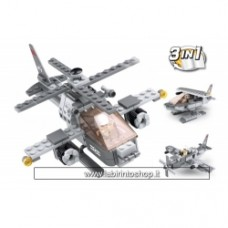 Army - Sluban Attack Helicopter 3-in-1 M38-B0537G