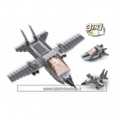 Army - Sluban Fighter Jet 3-in-1 M38-B0537I