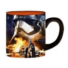 Star Wars Episode VII - The Force Awakens Phasma and Flametroopers 14 oz. Ceramic Mug