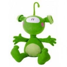 peluche alieno verde