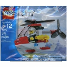 LEGO CITY FIRE HELICOPTER 4900 POLYBAG