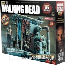 MCFARLANE TOYS Walking Dead Boiler Room Construction Set