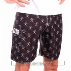 Star Wars - Icons Pattern Men Swimshorts - Black