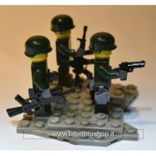 Brick one Minifigure - Vietnam -  Command Squad