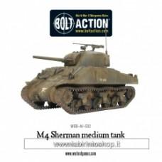 Plastic M4 Sherman medium tank