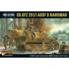Sd.Kfz 251/1 ausf D halftrack plastic box set
