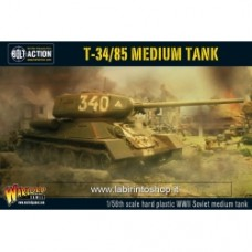 Plastic T-34/85 medium tank