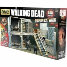MCFARLANE TOYS Walking Dead Prison Catwalk Building Set