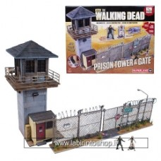 MCFARLANE TOYS Walking Dead Prison Tower & Gate Building Set