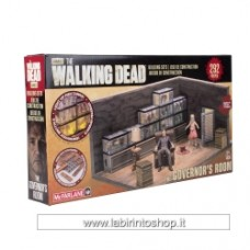 MCFARLANE TOYS Walking Dead The Governor and The Fish Tank Room Building Set