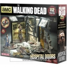 MCFARLANE TOYS Walking Dead Hospital Doors Building Set