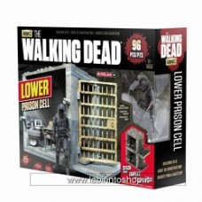 MCFARLANE TOYS Walking Dead LOWER PRISON CELL Building Set