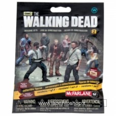 MCFARLANE TOYS Walking Dead Building Set Blind Bag Serie 2