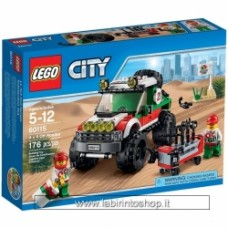 Lego - City - 60115 4 x 4 Off Roader