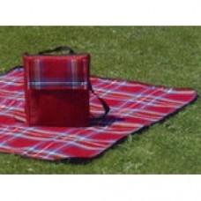 borsa zaino picnic con plaid