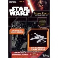 Star Wars POE DAMERON'S X-WING FIGHTER Metal Earth Model Kit
