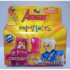 minimates avengers scarlet e quicksilver