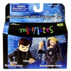 minimates spider-man 3 peter parker transformation venom